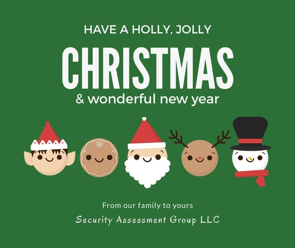 Read more about the article Merry Christmas and Happy New Year!