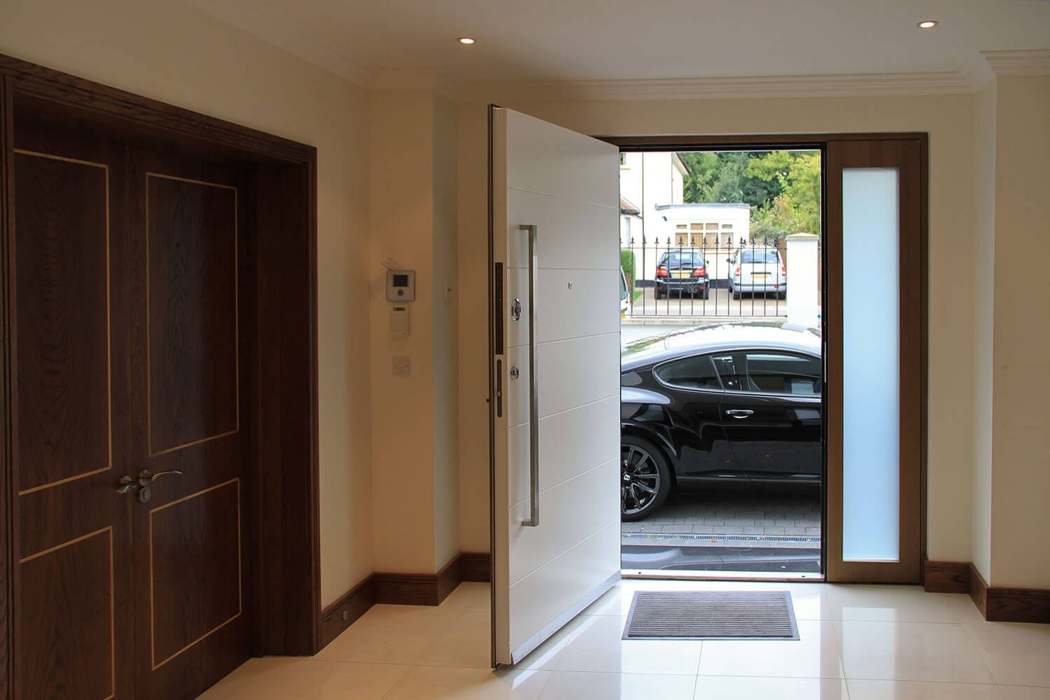 Modern, contemporary security door