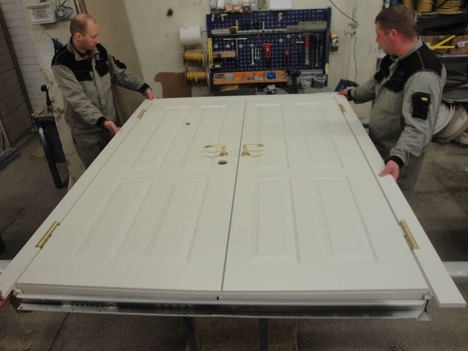 Security door production