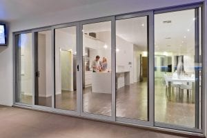 Security Screens on Sliding Doors